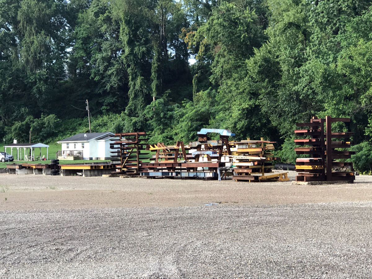 Assorted H Beams Dingey Movers Equipment 2